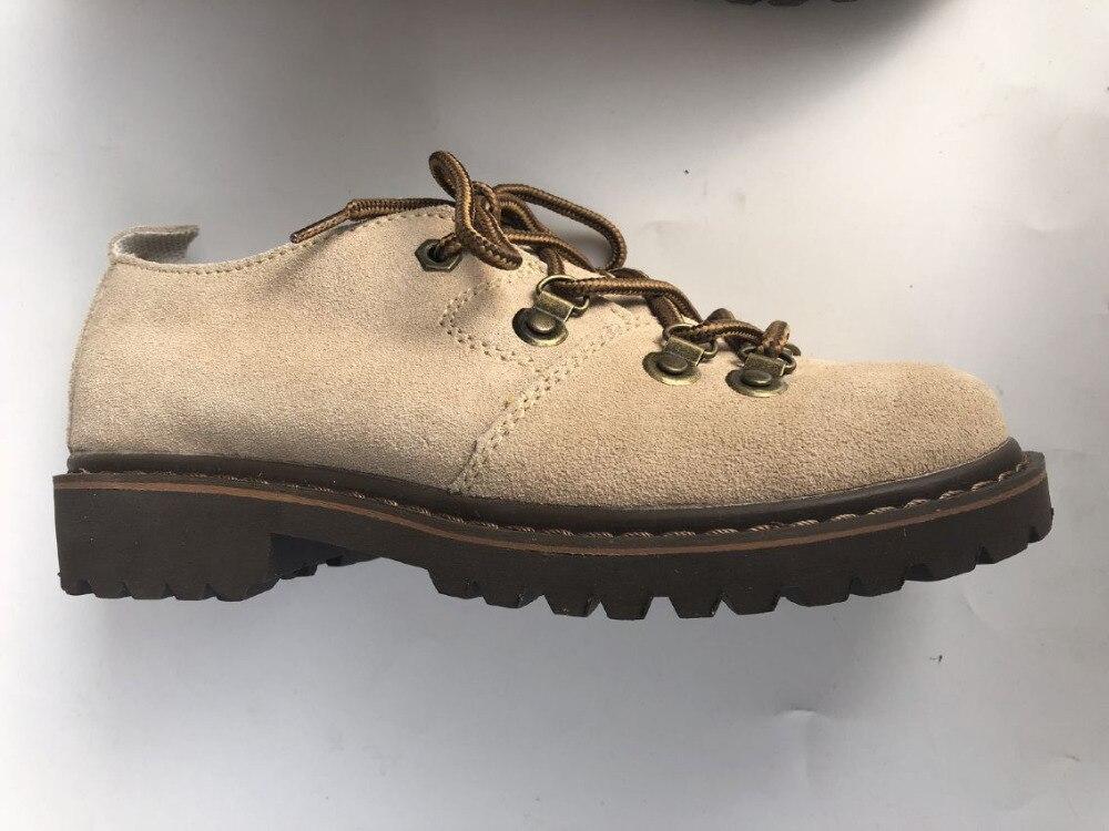 Careaymade nowa czysta ręcznie buty, oryginalne skórzane buty, retro sztuki mori dziewczyna buty, na co dzień krótkie buty, matowy skórzane buty w Buty do kostki od Buty na  Grupa 3