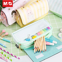Portable Large Capacity Multifunction School Pen Pencil Bag Pencil Case Kawaii Fabric Makeup Bags Student Stationery APBN3484