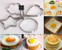 Stainless Steel Cake Pan Baking Mold Cake And Pizza Baking Frame 4PCS SET Free Shipping