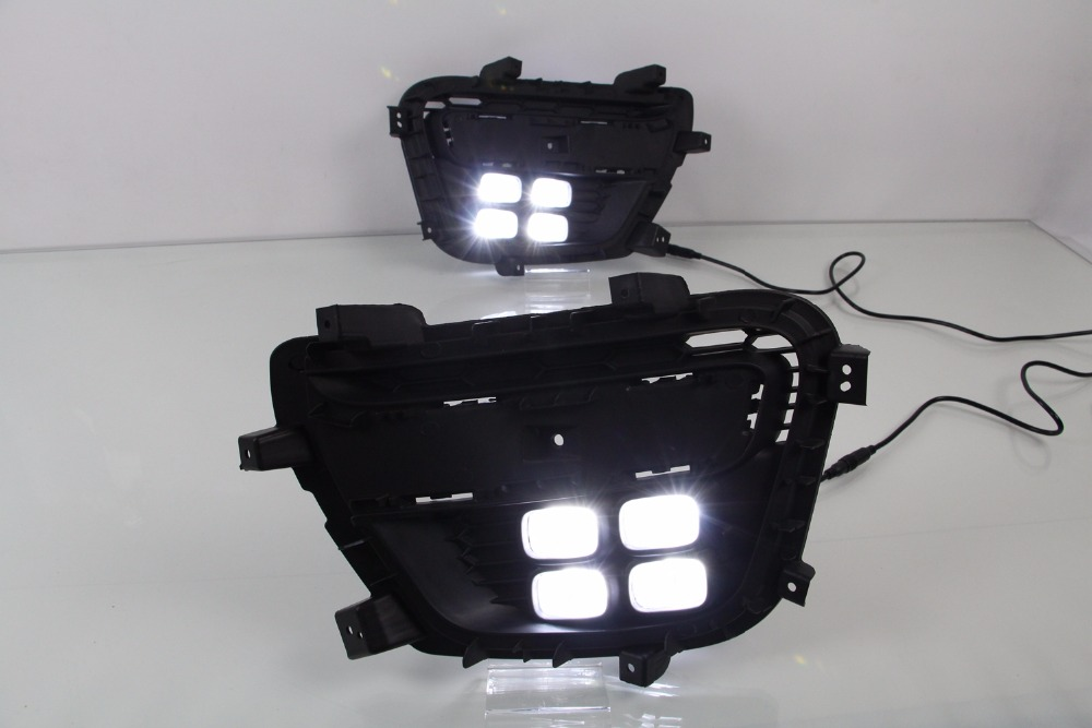 Osmrk led drl daytime running light for Geely Emgrand GS 2016-17, turn signal, wireless switch, dim control, blue night light коврик в багажник geely emgrand ec7 rv 2011