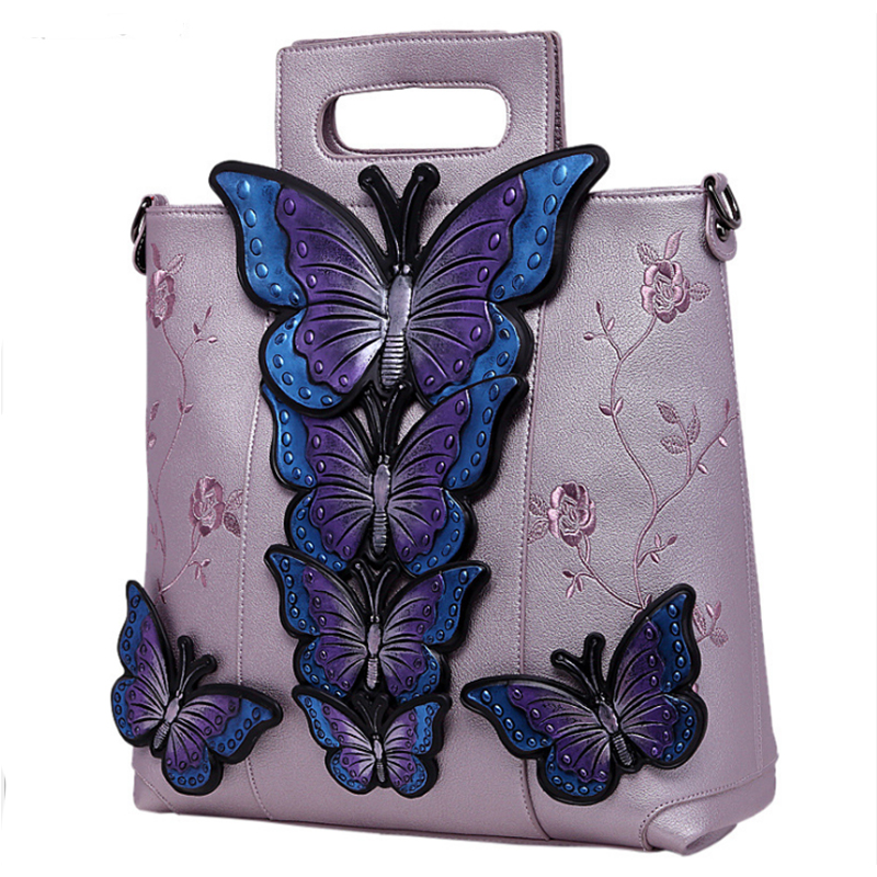 Butterfly Printed Shoulder Bag Lady Large Capacity Casual Tote Bags Women Daily Use Shopping Bag Female Canvas Handbag high quality women linen woven luxury tote large capacity female casual shoulder bag lady daily handbag fresh beach shopping bag