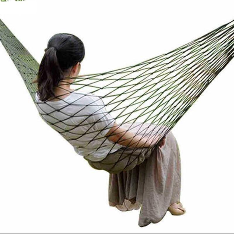 ⑥Alta calidad portátil jardín al aire libre hamaca colgar cama de ...
