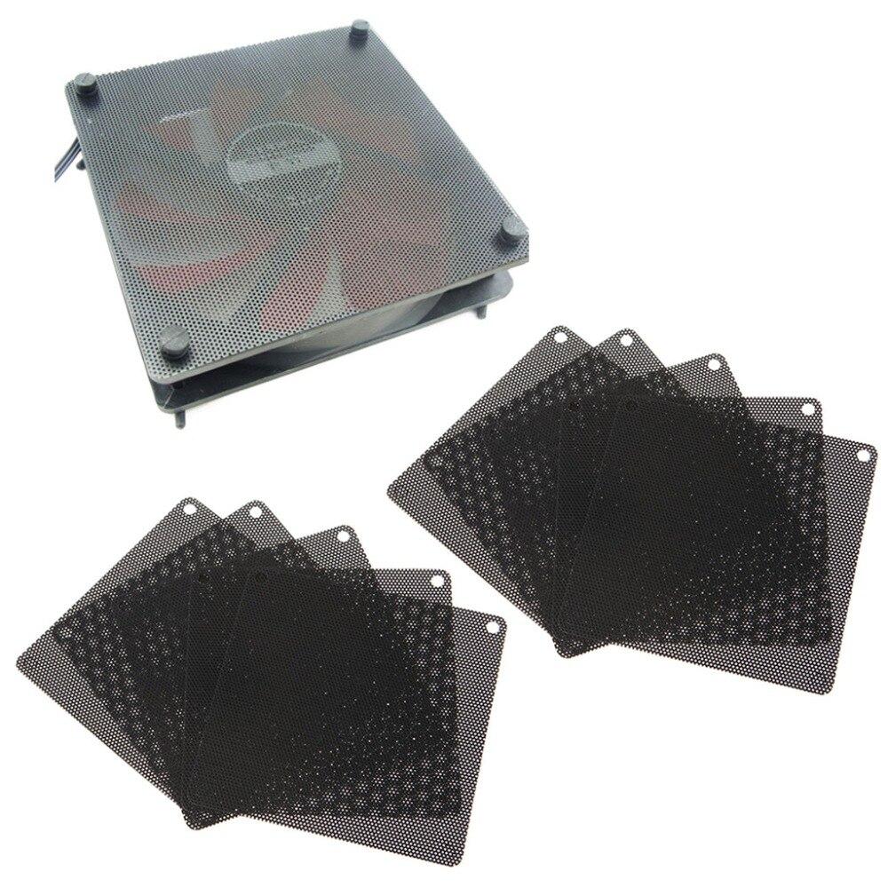 5PCS PVC Fan Dust Filter PC Dustproof Case Cuttable Computer Mesh Cover 40mm
