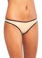 Latex string panties with trim Sexy Latex Women's T BACK Latex Briefs Ladies Panties