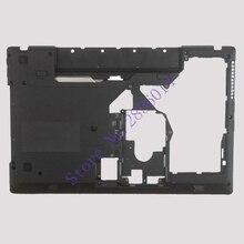 """New Laptop Bottom Cover For Lenovo G570 G575 Bottom Case Base Black """"HDMI"""" Combo"""