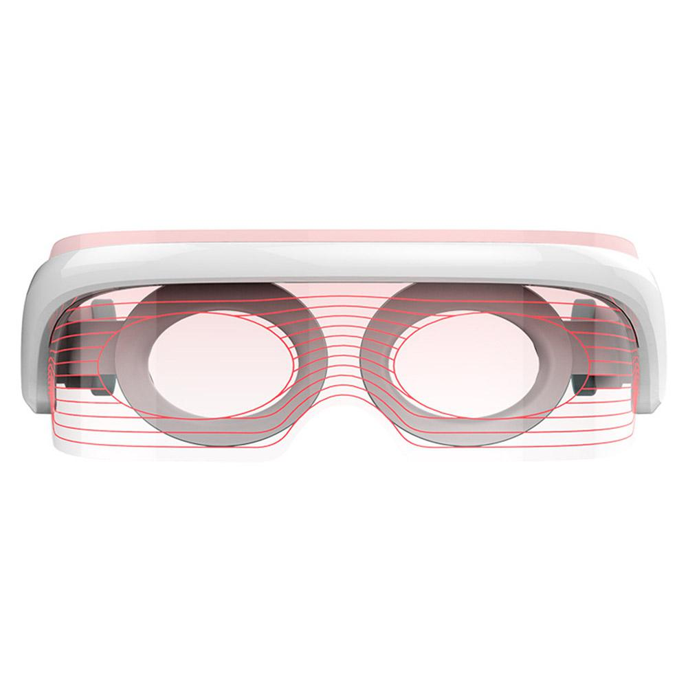 LED Electric Eyes Massager Vibration Infrared Heating Therapy Air Pressure Eye SPA Glasses Stress Relief Eyes Care Device in Face Skin Care Tools from Beauty Health
