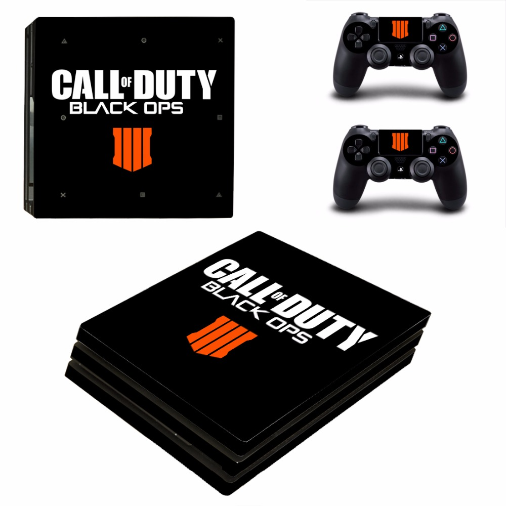 Call of Duty Black OPS 3 PS4 Pro Skin Sticker For PlayStation 4 Console and 2 Controllers PS4 Pro Skins Stickers Decal Vinyl
