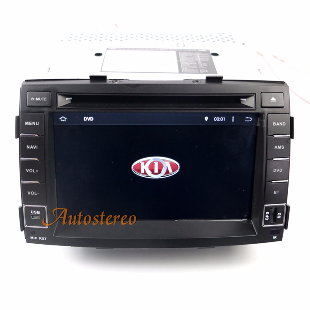 Octa 8 core Android Car CD DVD Player GPS Navigation For KIA SORENTO 2010 2011 2012 Satnavi Autostereo Radio Unit Car Multimedia цена