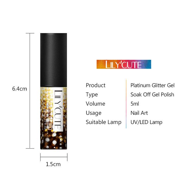 LILYCUTE 5ml Platinum Gel