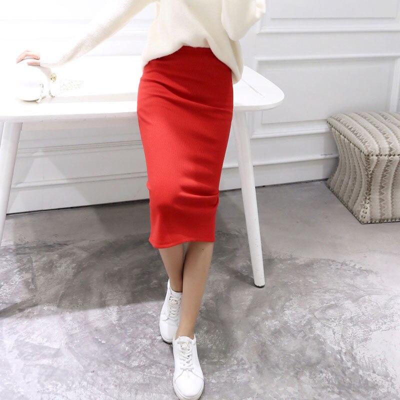 Купить юбка до середины икры с