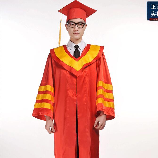 Adult Performance Academic Dress Gown Women University Graduation ...