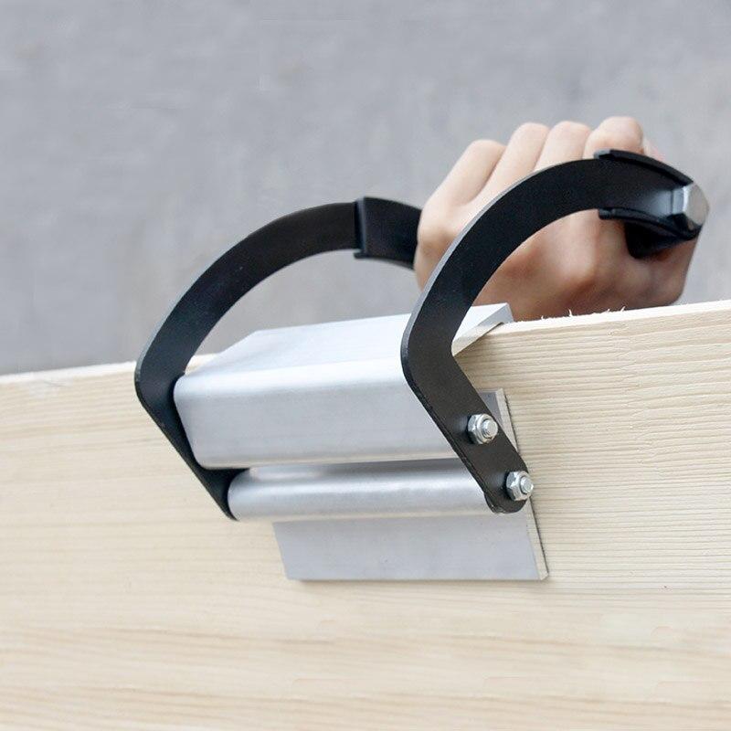 Porte-panneau en verre contreplaqué en bois 0 à 25mm pince à meubles feuille de transport poignée en bois poignée clé outil de manutention