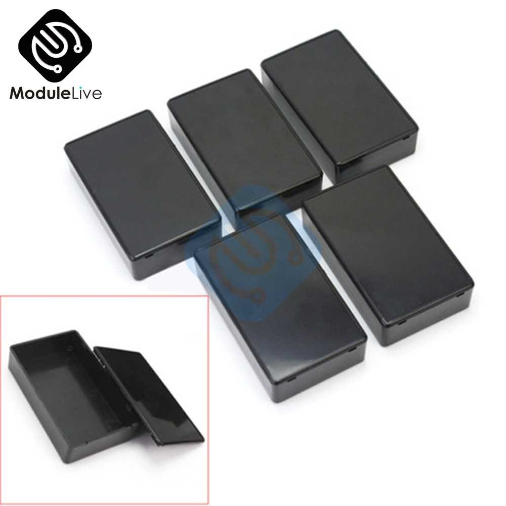 1 Pc Plastik Elektronik Proyek Box Enclosure Instrumen Case 100X60X25 Mm