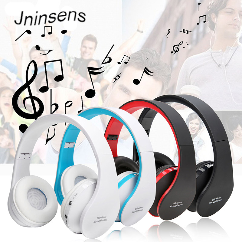 Folding HiFi Deep Bass Earphone Wired / Wireless Stereo Bluetooth Headphone Over-Ear Noise Cancelling Headset With Mic Fashion секатор grinda 8 423122 z01