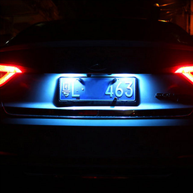 Tienda Online CANbus T10 w5w 168 194 LED Marcos de matrícula luces ...