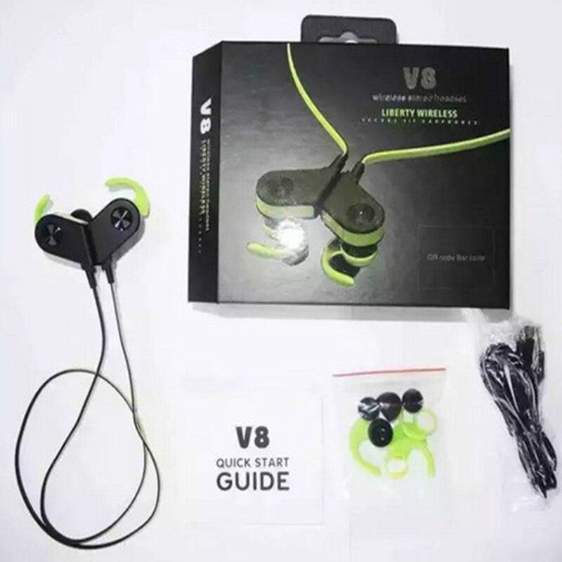 Cdragon V8 PRO sans fil Bluetooth Sports en cours d'exécution écouteurs intra-auriculaires stéréo écouteurs aimant interrupteur combiné livraison gratuite