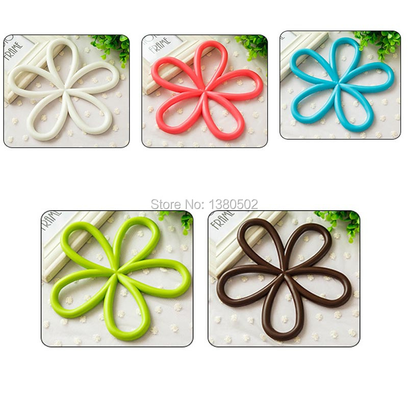 5pcs/Lot Multicolor mat cup bar mug placemats coaster mats & pads dining table kitchen accessories ...