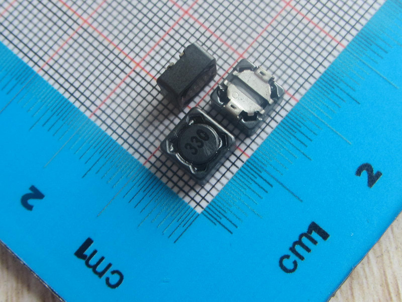 Free Shipping 50pcs SMD Shielded Inductors Power Inductors 7*7*4MM 33uH Power Inductor 330 CDRH74R