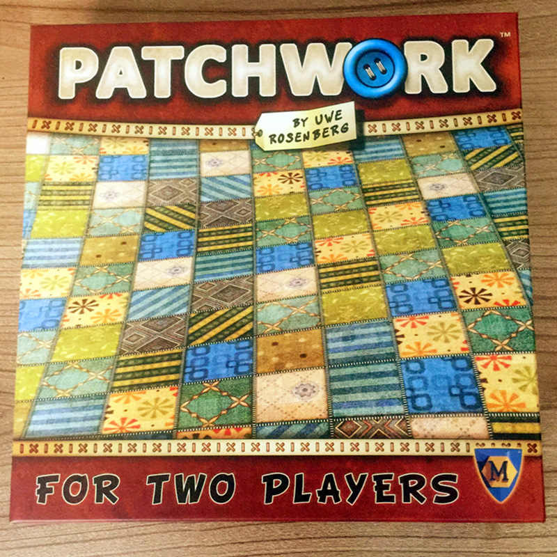 Patchwork Board Game For Two Players Funny Party Games Paper Cards Chinese/English Version Free Shipping цены онлайн