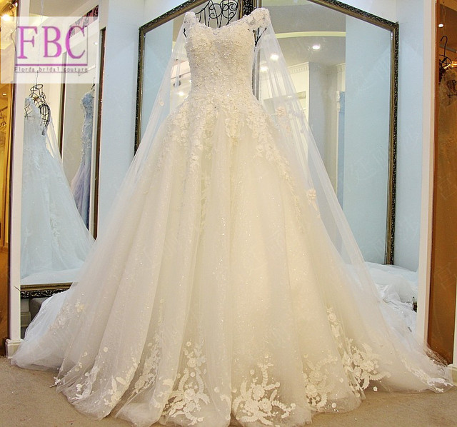 Luxury Bling Sparkle Wedding Dress Bridal Dress Bridal Gown Long ...