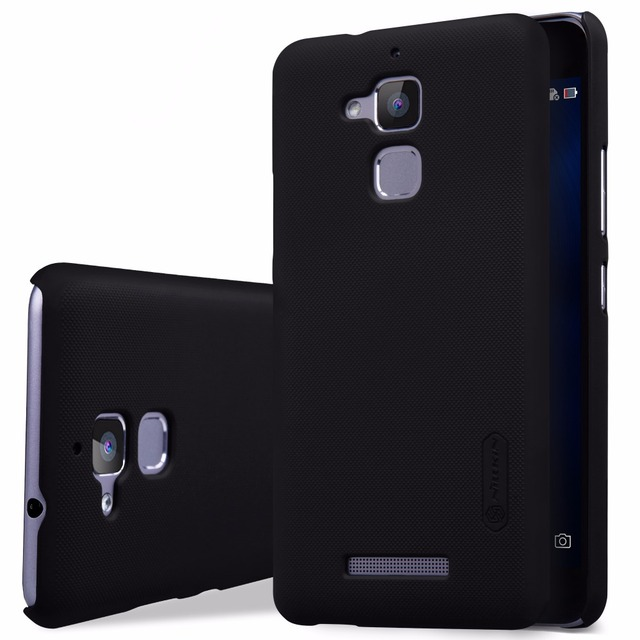 the latest b855a 8b885 US $7.19 5% OFF|Asus Zenfone 3 Max(ZC520TL) case NILLKIN Super Frosted  Shield hard back cover case with free screen protector Retail package-in ...