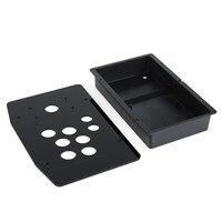 Arcade Joystick Acrylic Panel And Case DIY Handle Arcade Set Kits Replacement Part Games Accessories
