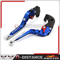 For Suzuki Gsxr600 Gsxr 750 1997-2003 CNC aluminum Adjustable Folding Extendable Brake Clutch Levers