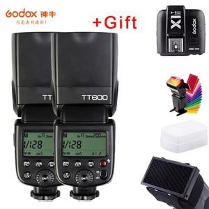 Godox TT600s Camera Flash Speedlite 2.4G Wireless Master Slave X1T-S Trigger HSS TTL for Sony a6000 a7 II III IV a58 a6500 a6300(China)