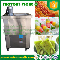 Intelligent control commercial popsicle machine, 220V/R22 ice lolly maker machine, multi function freezer with ice lolly mould
