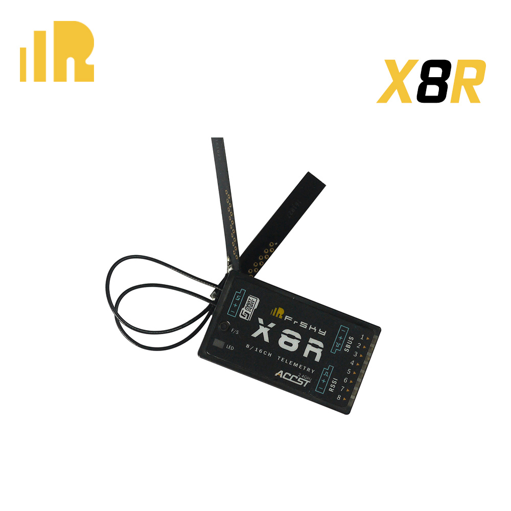 FrSky X8R 2 4Ghz 8 16Ch S BUS Smart Port Telemetry Receiver for Taranis