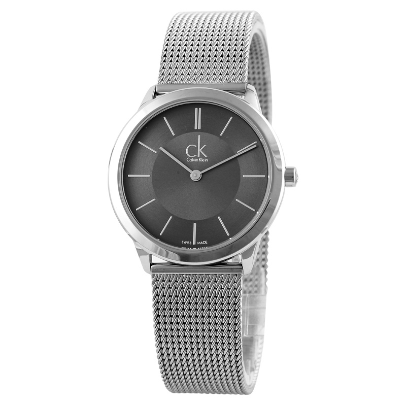 CalvinKlein MINIMAL Series Milan Knitting Men's Watch K3M22124 цена и фото