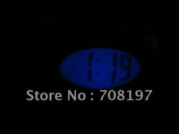 digital LCD smart light clock