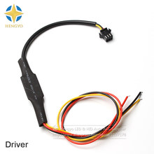 10 Pcs 30 cm 45 cm 60 cm 85 cm Fleksibel Cahaya Jalur Switchback Headlight Malaikat Eye DRL Controller Driver indikator(China)