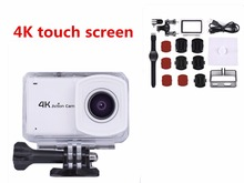 New Arrival!Ultra HD 4K WIFI Sport Action Camera 30m waterproof 2.45 Inch Touch Screen 170D 1080p 60fps sport Camera GoPro Cam