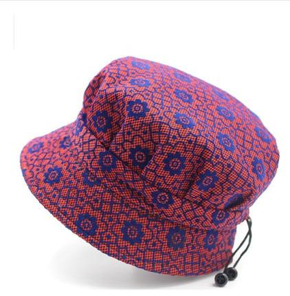 Mujeres Madre abuela Sombrero de sol de moda Floral Pescador Panamá - Accesorios para la ropa - foto 3