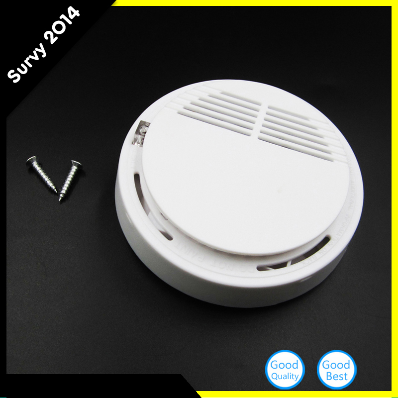 Wireless Alarm Security Smoke Fire Detector / Sensor For all GSM Alarm System For Home House Office ...