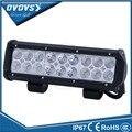 "Dual row flood spot beam light bar offroad 12 volt 9"" 54w led offroad light bar for 4X4 ATV SUV truck"