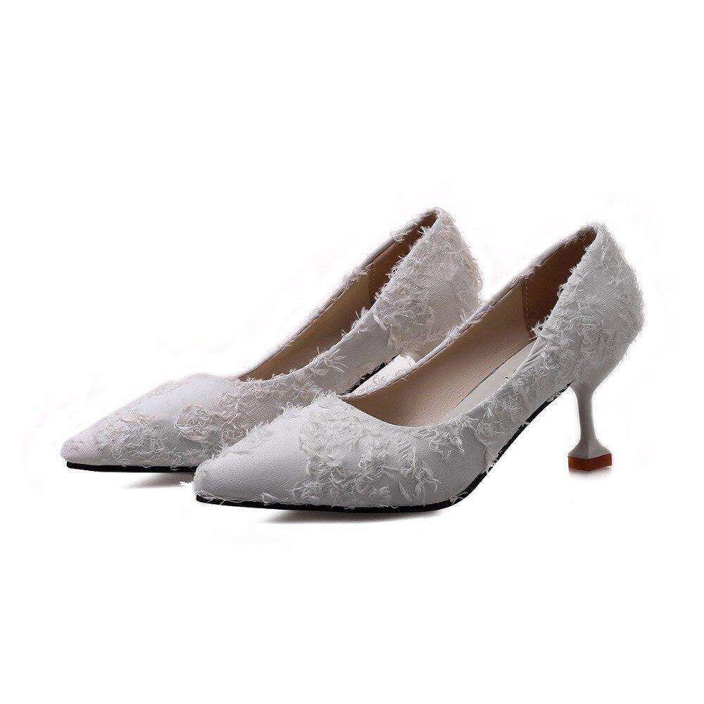 Et À Printemps Profonde Franges Dames Hauts Femmes Noir Mariage Chaussures Banquet De blanc rose Haute Nouveau Talons Peu Automne gf1gwqxzr