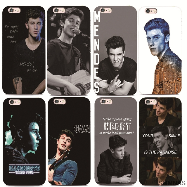 reputable site 0410c 9c505 Aliexpress.com : Buy SMMNAS Coque Shawn Mendes For iPhone 5 X 8plus Black  silicone Phone Cases For iPhone 7 Plus 6 6s Plus luxury Ultra Thin from ...