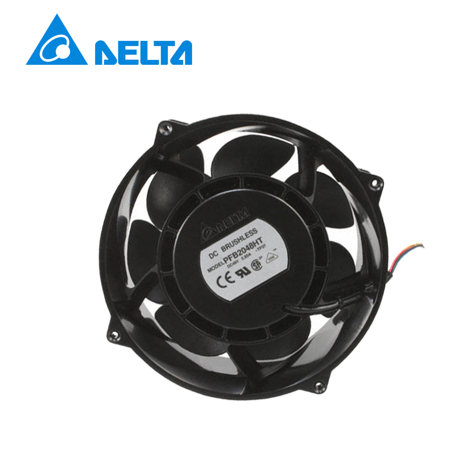 Delta PFB2048HT 48V 2.85A fan 20CM 20070 cooling fan Server Fan delta efb1248hh r00 12025 48v 0 12a 12cm cooling fan