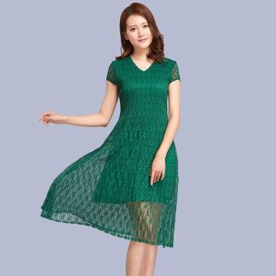 À Stock Bleu Miyake Unie Mode Gratuite bourgogne vert Robe Manches Noir Livraison En Dentelle marine Geomric Couleur Courtes nPkX80wO
