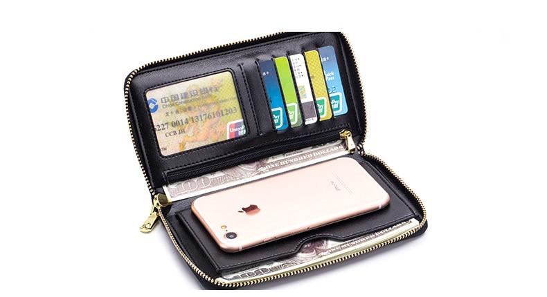 Women genuine leather wallet 16