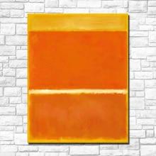 For Living Room Abstract Painting Mark Rothko Canvas Art Home Decor Modern Oil No Framed