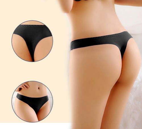 Wholesale 2017 Best Selling Sexy Invisible Knickers Thongs G-String Briefs Underwear   Panties   Seamless Women Free Shipping Hot