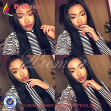 Unprocessed Brazilian Virgin Hair Full Lace Human Hair Wigs Top 7A Straight Glueless Lace Front Human Hair Wigs For Black Women