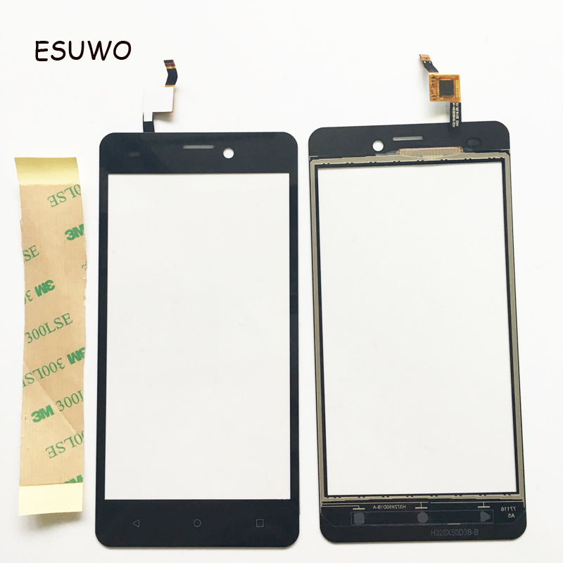 ESUWO Touch Screen Digitizer Front Glass For Prestigio Muze A5 PSP5502 PSP 5502 DUO Touchscreen Sensor Touch Panel