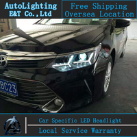 Car Styling Head Lamp For New Camry Led Headlights 2014 2015 Toyota Camry Led Drl H7