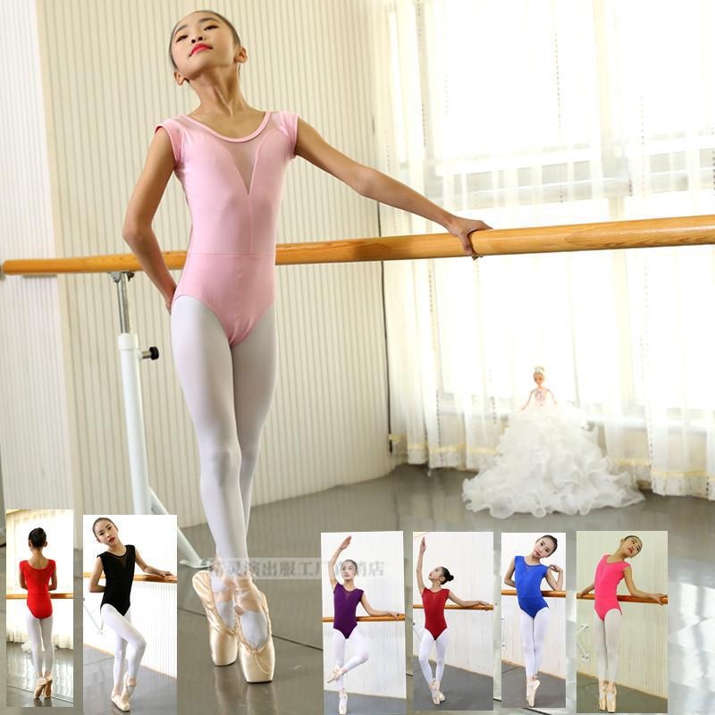 Sleeveless Adults Ballet Leotard Gymnastics Leotards Women Ballet Dance Costume Ballerina Kids Bodysuit Unitard Dancewear F Girl