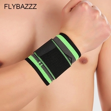FLYBAZZZ 3D Weaving Straps Fitness Wristband Crossfit Gym Badminton Powerlifting Wrist Support Brace Wraps Hand Protection