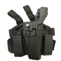 Level 3 Airsoft Tactical Colt Leg Holster Right Thigh Paddle Belt Lock Duty Holster Fit For Colt 1911